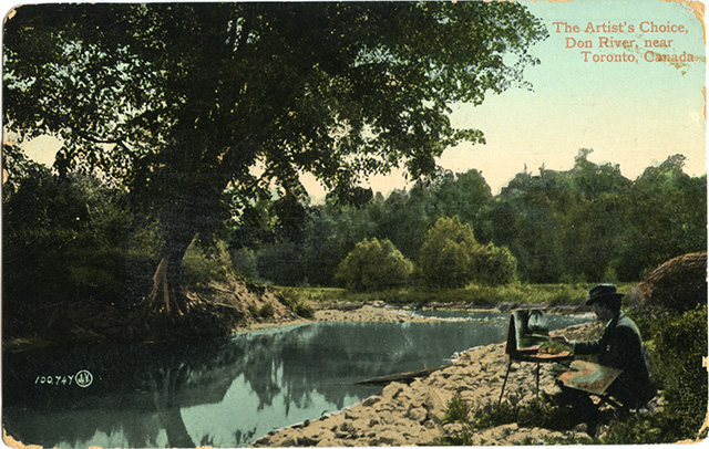 Don River postcard