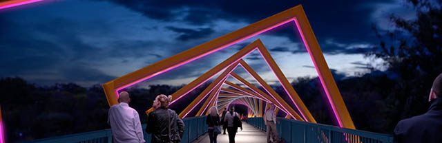 Riverdale Bridge art rendering.