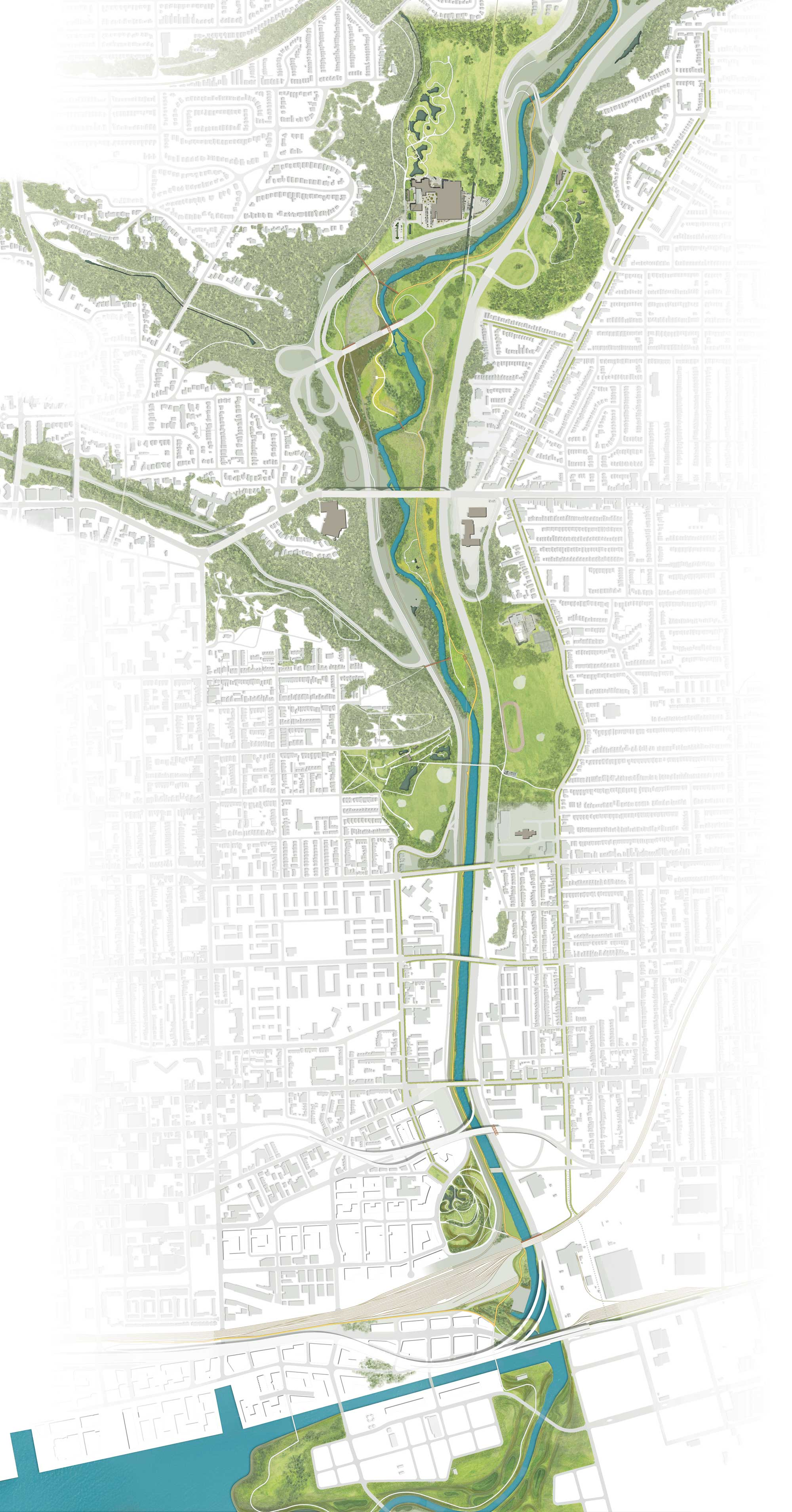 Park Map | The Don River Valley Park